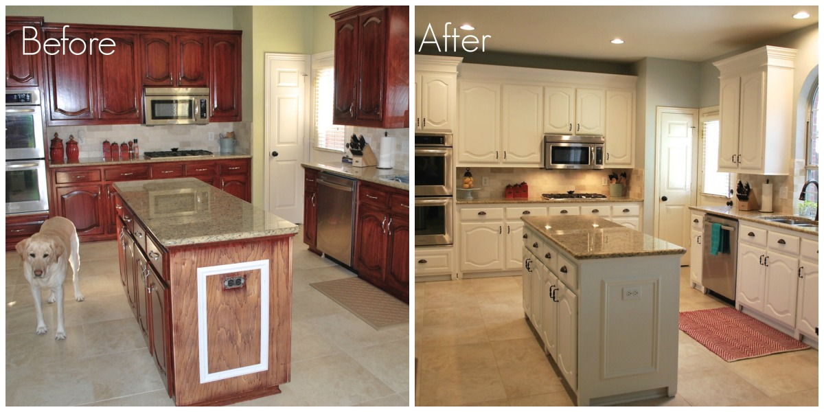 Mostly Diy Kitchen Cabinet Transformation The Process