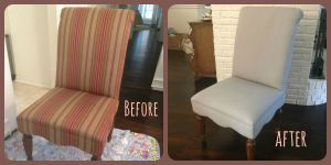 Before and After text Lynn Chairs